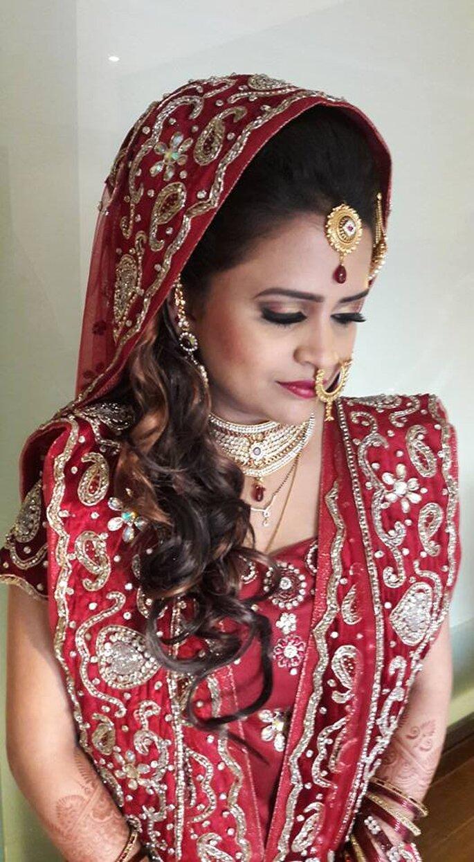 Photo: Veena Tanna - Makeup Artist.