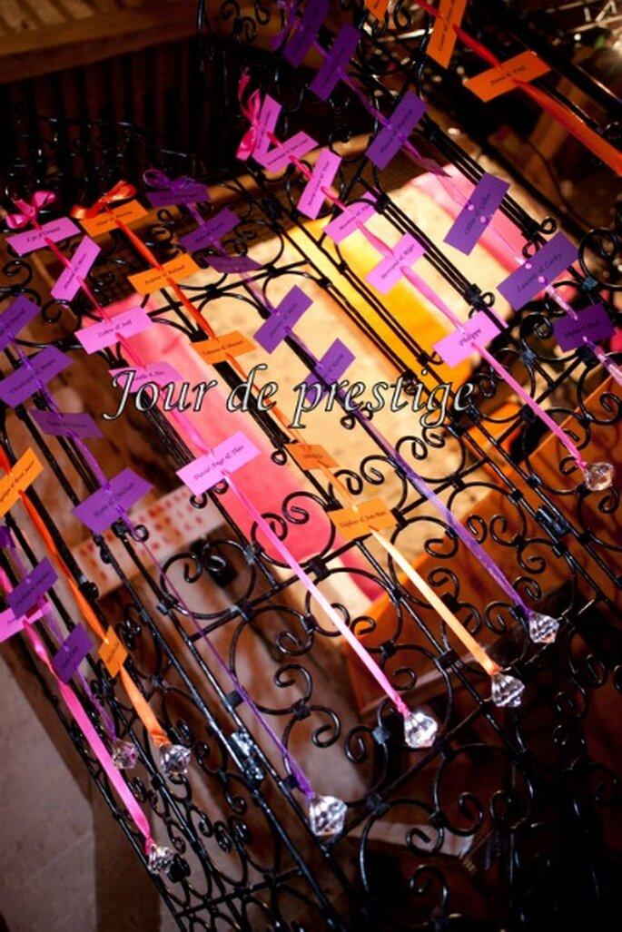Thème de mariage et décoration de mariage sont votre reflet - Photo : Jour de Prestige