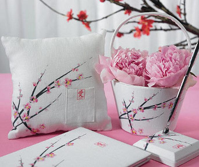 Décorations de Mariage :  Thème Fleurs de cerisier