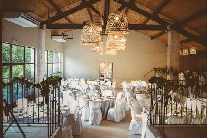 Le Mas d'Arvieux - mariage - salle de réception - paca - couple