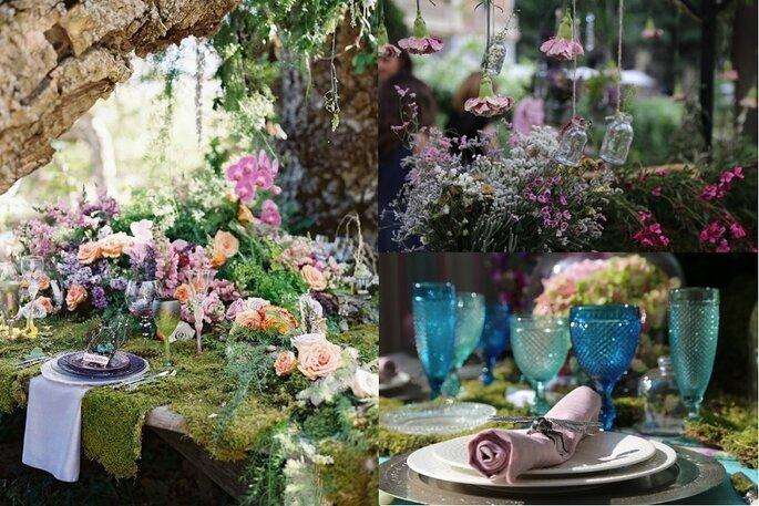 decoración tendencias bodas 2016
