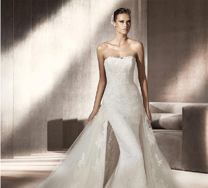 Brautkleid Pluma aus der Kollektion 2012 von Pronovias