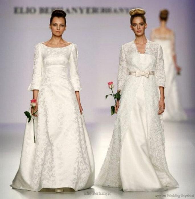 Vestidos de novia Elio Berhanyer