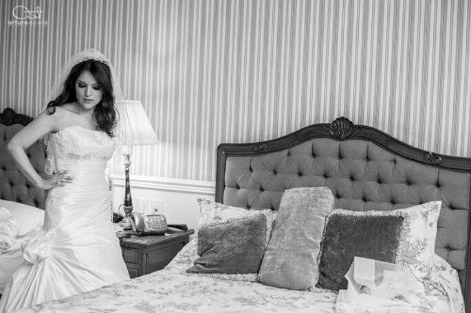 Un fotógrafo profesional de bodas hará que salgas divina siempre - Foto Arturo Ayala