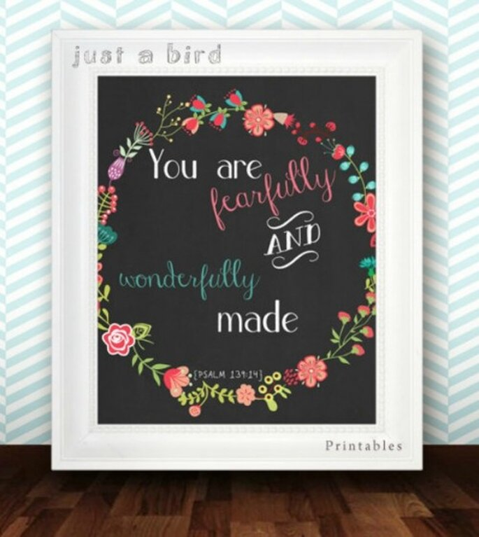 Foto: Just A Bird Printables vía Etsy