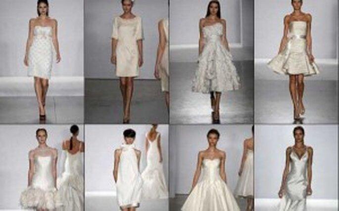 Trend 2011: Kurze Brautkleider