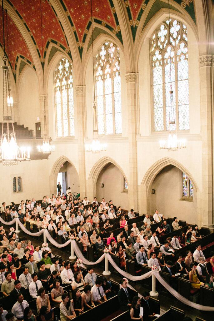 decoración de la iglesia - Mirelle Carmichael Photography