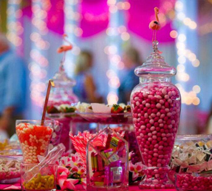 Ein Highlight in Pink: die Candy-Bar – Foto: cb karine razvanphotography