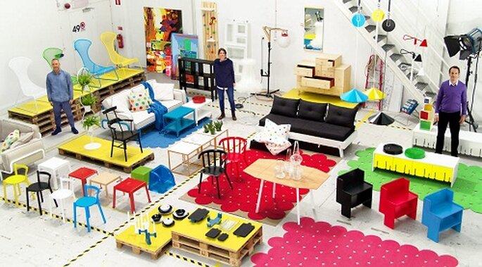 La collezione di desing Ps 2012 di Ikea. Foto: www.ikea.com