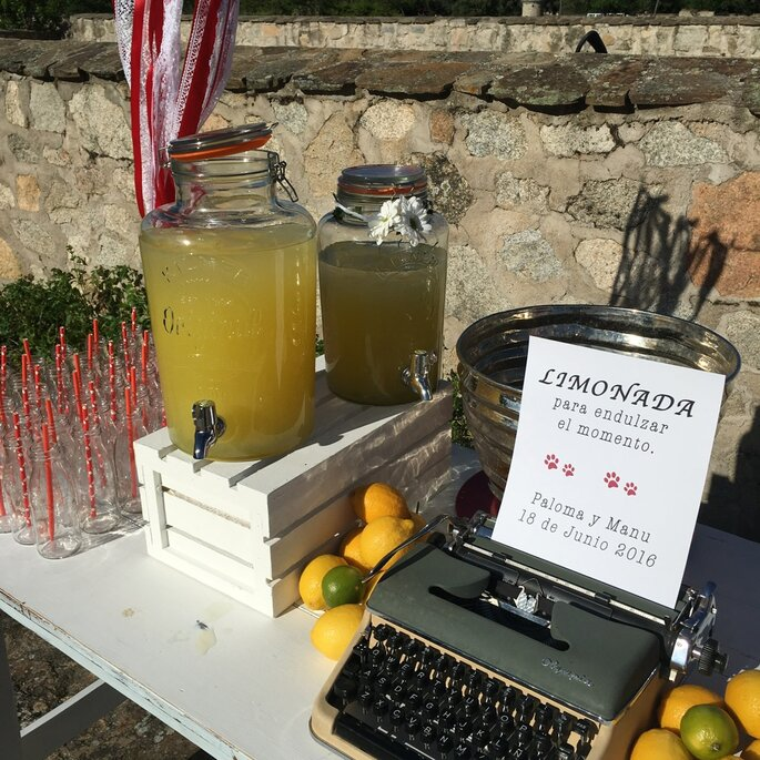 limonadas para boda