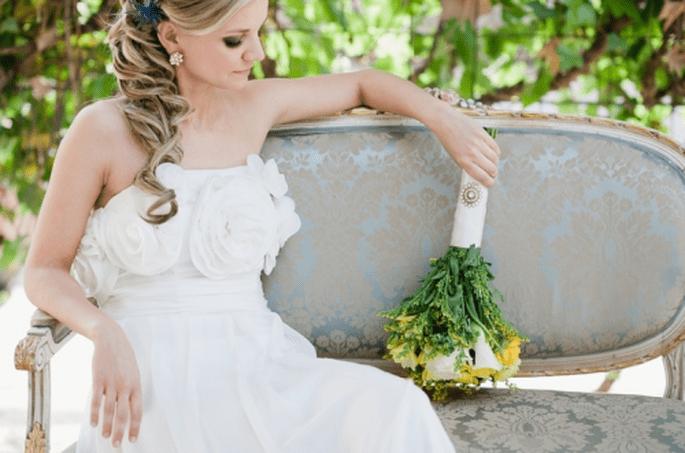 Como escoger los ramos damas de honor para la boda. Fotografía Nadia Meli