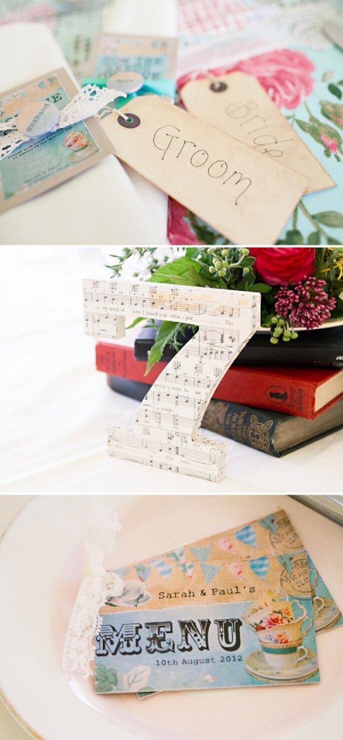 Detalles para la decoración de tu boda en color menta - Foto HBA Photography