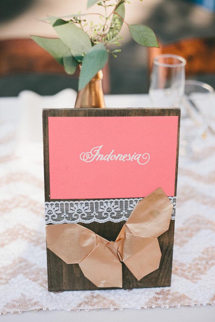 5 ideas innovadoras para decorar tu boda. Foto-Onelove Photography