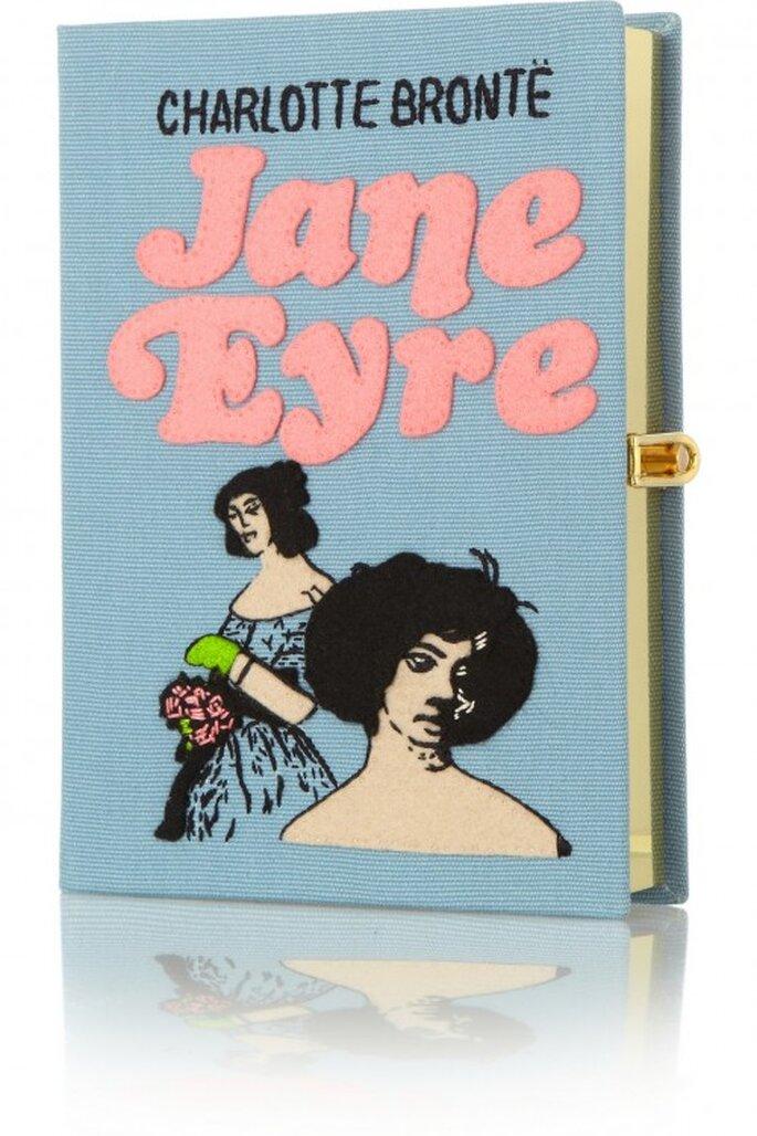Bolso de fiesta con forma de libro para boda - Foto PS Besitos
