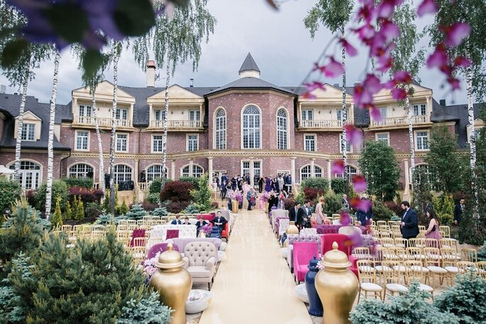 Agalarov Estate, агентство Ajur Wedding