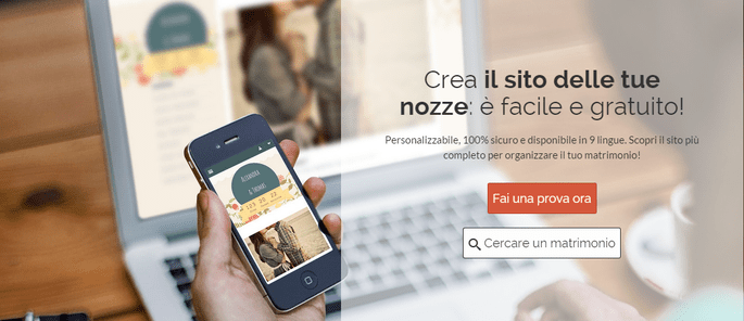 Il tuo sito gratuito con Zankyou