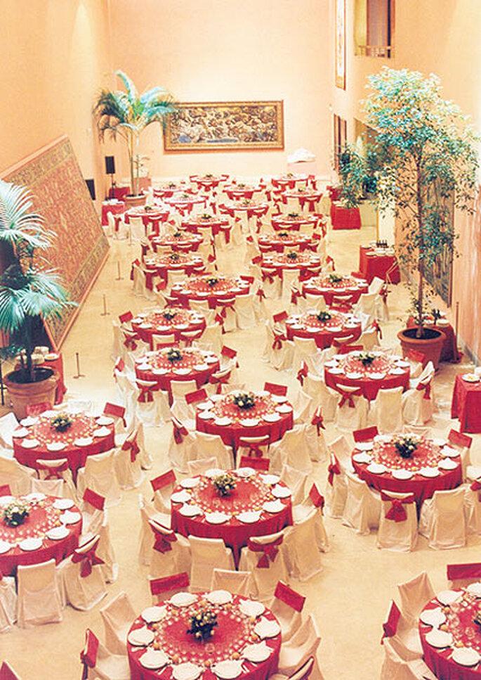 Catering en el Museo Thyssen de Madrid. Foto: La Cococha