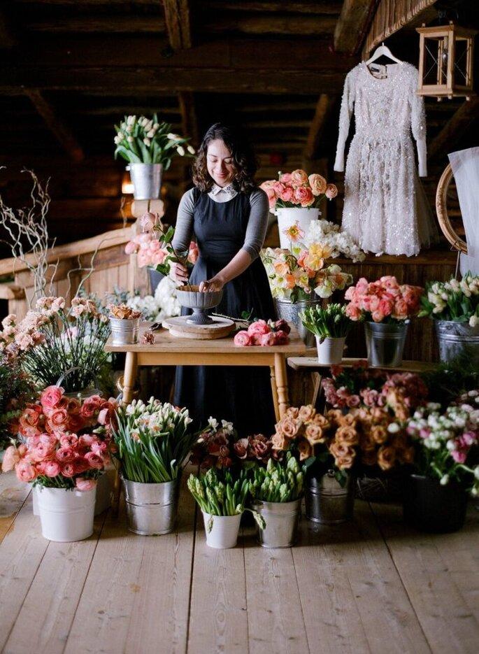 Kiana Underwoodin arte Tulipina, famosissima e talentuosa floral designer americana, sarà a Roma dal 26 al 28 marzo 2019