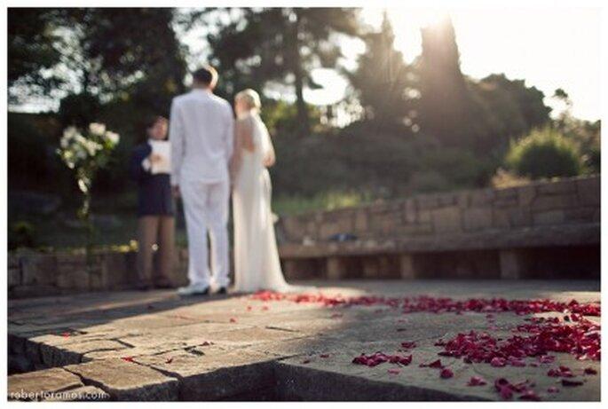 Una boda sencilla es más íntima. foto de robertoramos.com