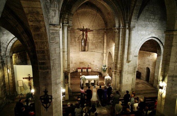Bei verschiedenen Konfessionen können Sie eine ökumenische Trauung vollziehen. Foto: Roberto Ramos.