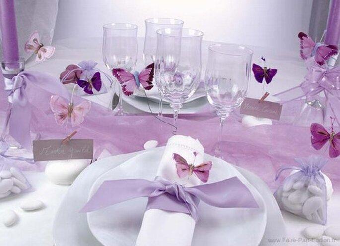 Couleur pour votre thème de mariage : le violet