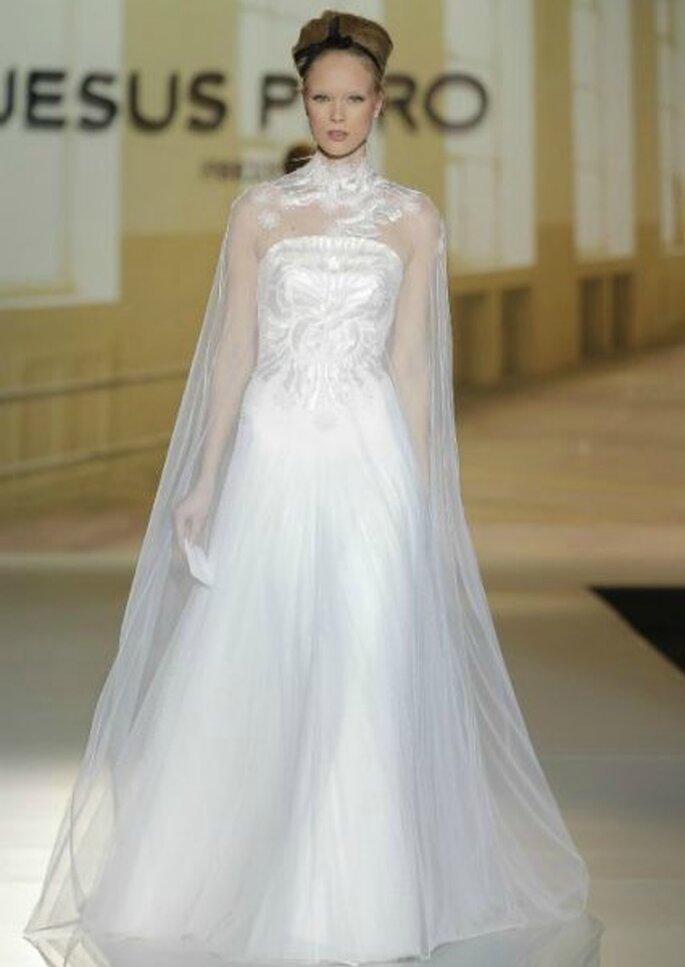 Jesús Peiró, colección 2014. Foto: Barcelona Bridal Week