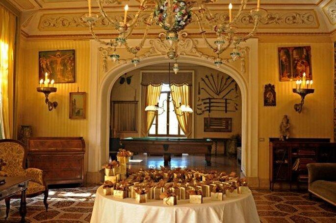Castello Benso di Mercenasco - bomboniere