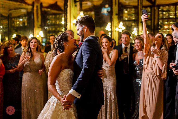 primeira dança noivos