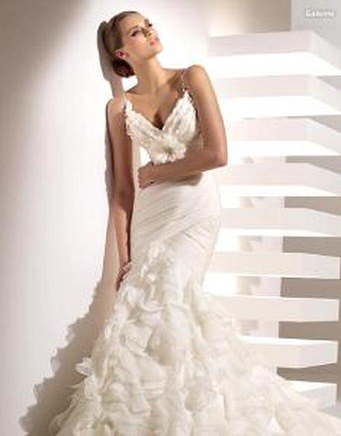 vestidos de novias con tirantes o mangas pronovias 2010