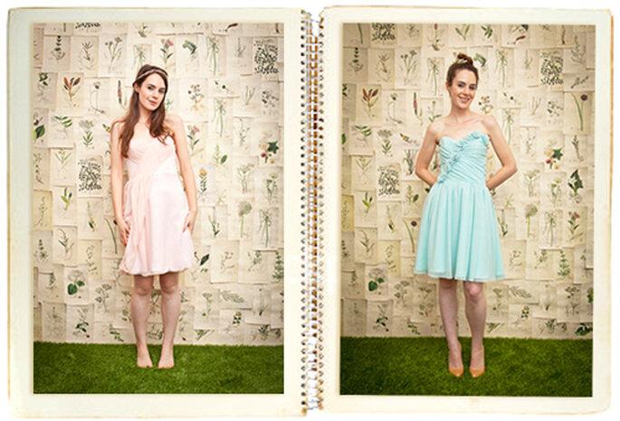 Photobooth und Photowall sind der neue Trend in Sachen Hochzeitsfotografie – Foto: Elizabeth Dye Designs
