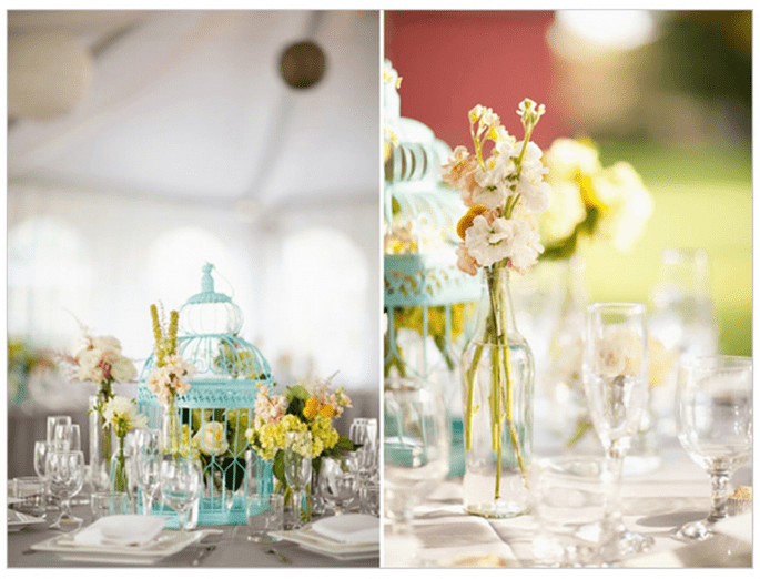 Vintage decor for your wedding - Photo: Korie Lynn Photography