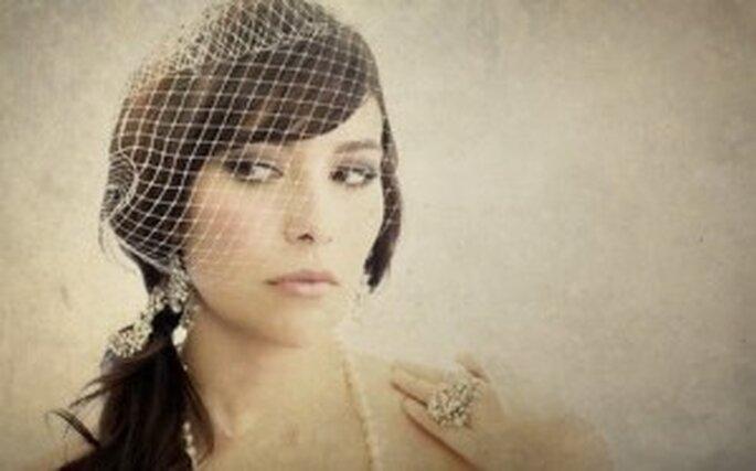 La voilette : un top accessoire pour une mariée vintage ! - Photo : pianetadonna.it/