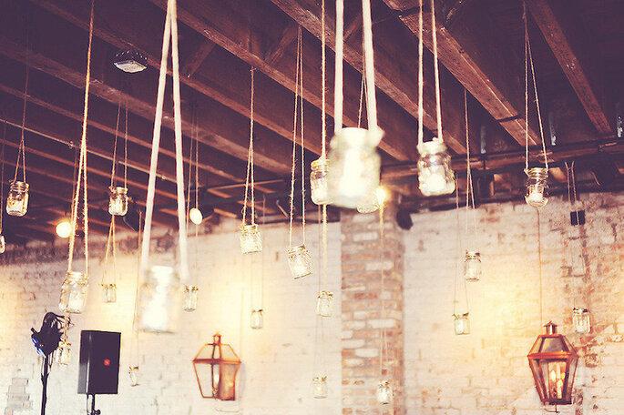 Las formas más originales de usar los mason jars en tu boda - Studio Tran Photographers