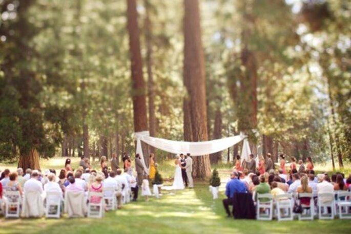 Um Casamento ao ar livre pode ser mais económico