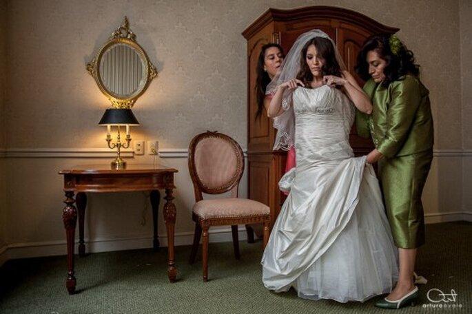 Incluye a toda tu familia en la fotografía profesional de tu boda - Foto Arturo Ayala