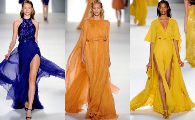 Vestidos de primavera para damas de honor. Foto. Elie Saab Primavera/verano 2012