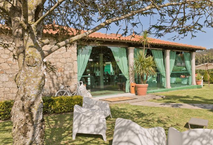 Quinta São Miguel de Arcos. Casamento outdoor