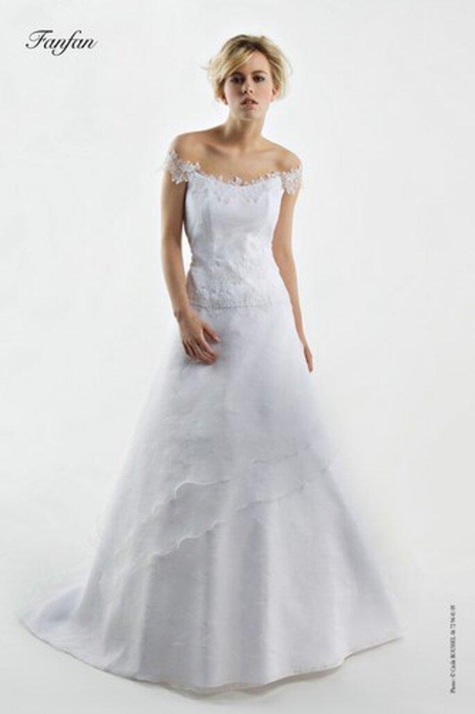 Robes de mariée Bochet Créations 2010 - Fanfan