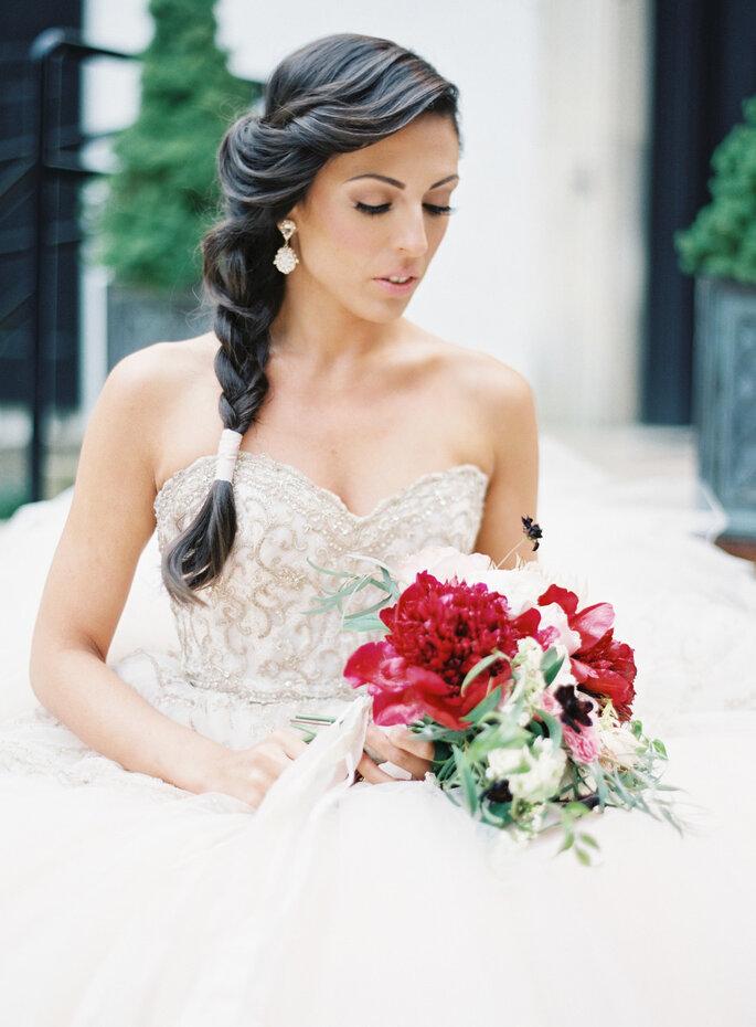Peinados románticos 2016 - Caroline Frost Photography