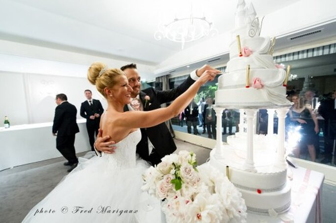 Mariage de Nathalie & Rudy à Paris - Photo : Fred Marigaux