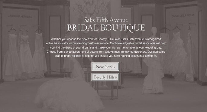 Editor s pick the best wedding dress boutiques in los angeles for Saks fifth avenue wedding dresses los angeles