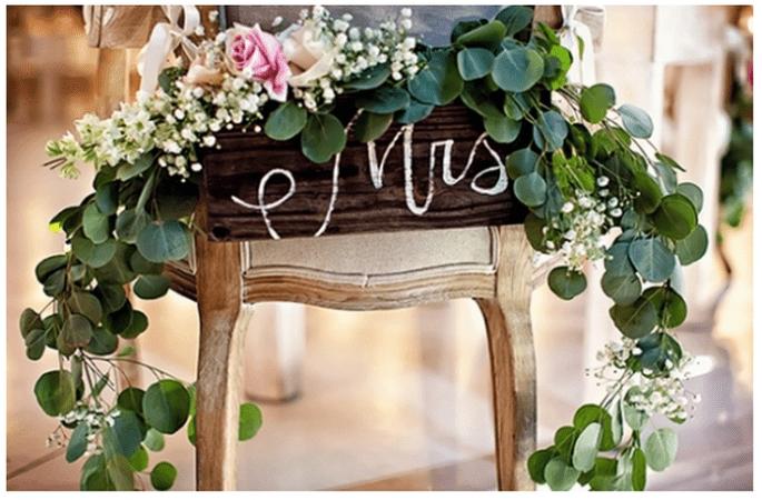 Muebles avejentados para una boda súper original - Foto William Innes Photography