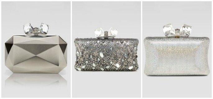 Preziose come gioielli le 3 clutch firmate Overture Judith Leiber. Foto: www.neimanmarcus.com
