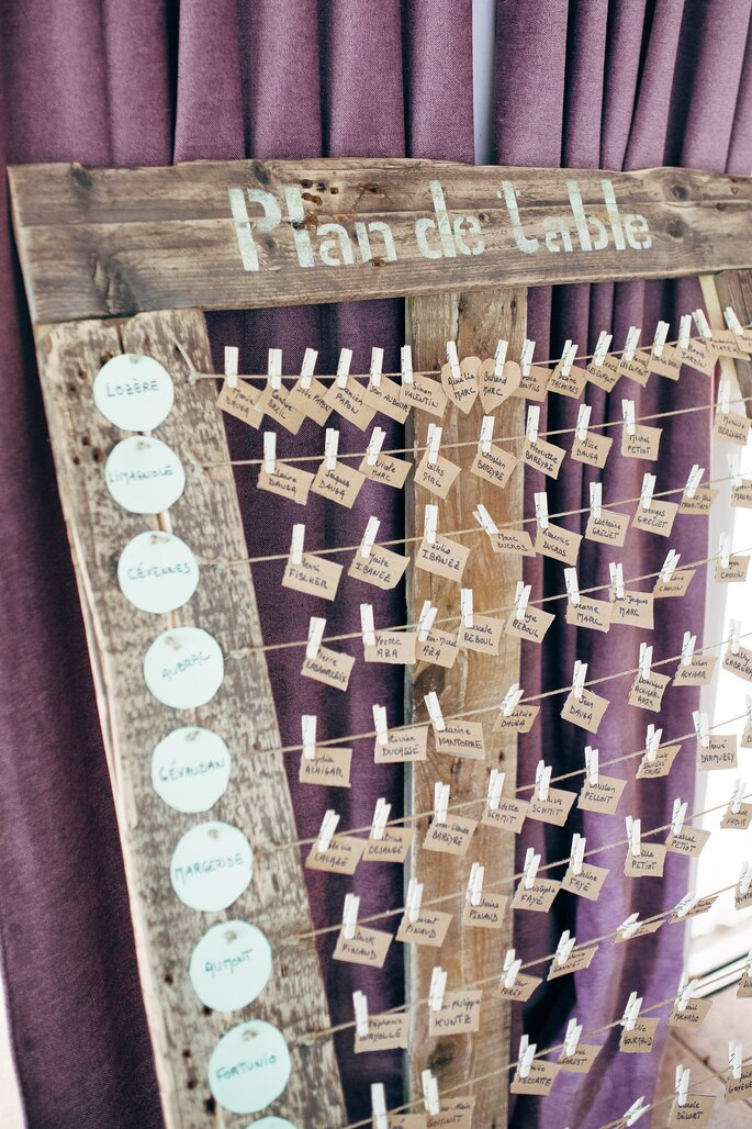 Comment disposer les tables de votre mariage - Comment disposer les tables pour un mariage ...