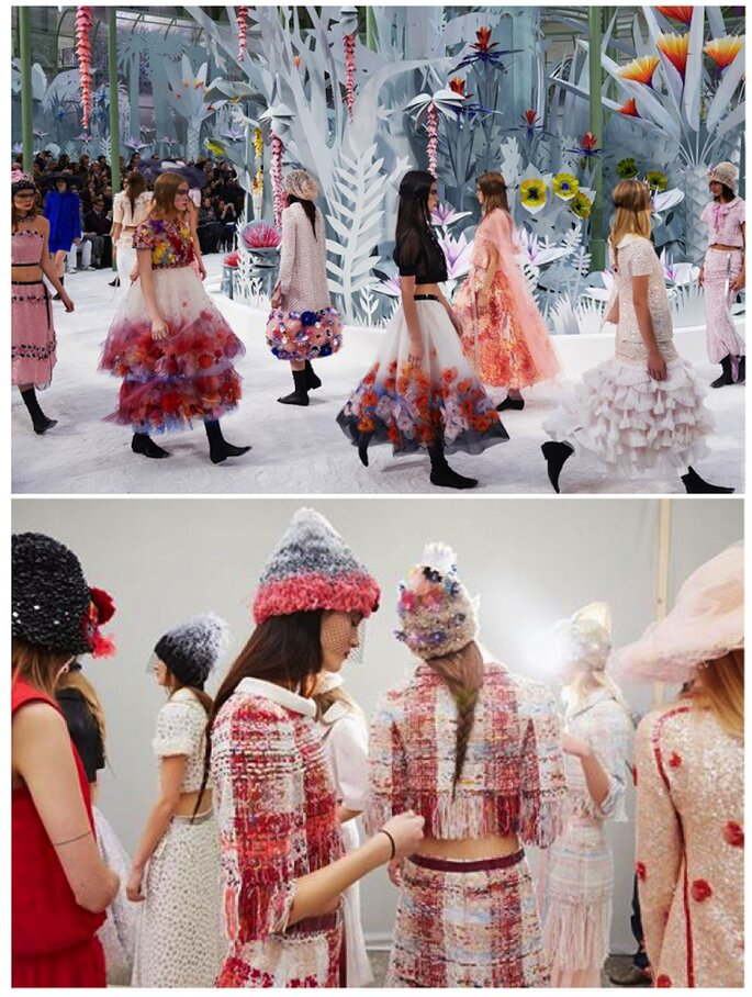 Chanel #PFW - foto via facebook.com/chanel