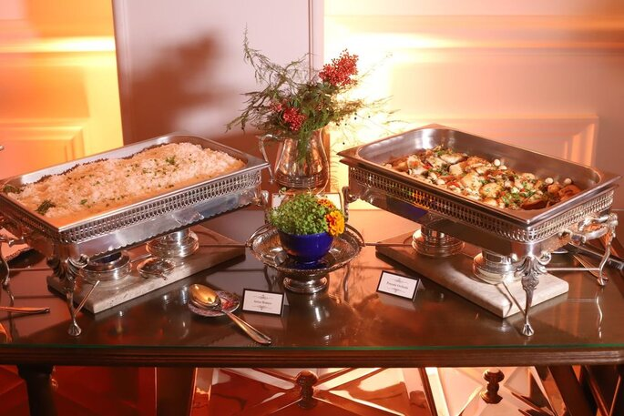 Gastronomia do Buffet Almeida Pires