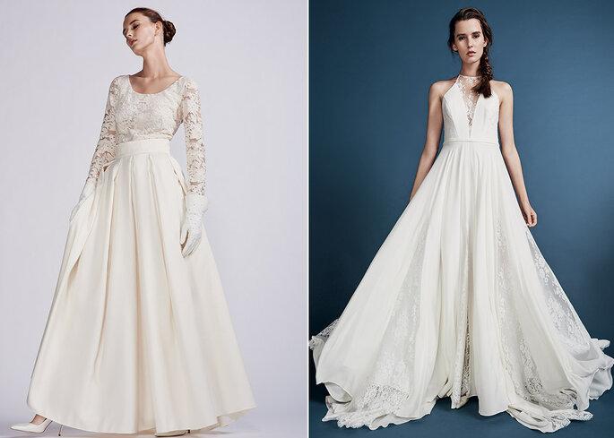 "MAISON FLORET Robe ""Henry"" 2 950€ /  RUE DE SEINE Robe ""Lark"" 3 000€"