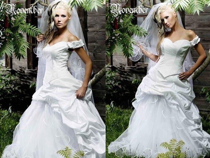 Außergewöhnliche Brautmode