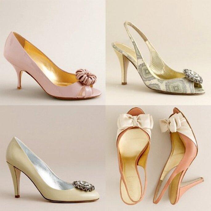 Zapatos de novia diferentes diseños