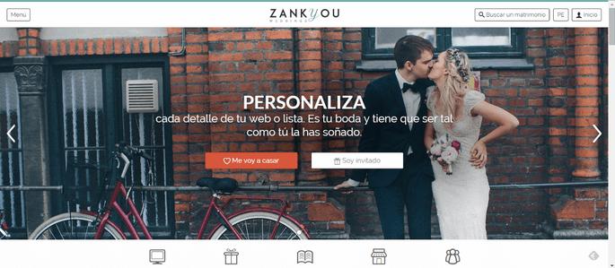 web de bodas zankyou